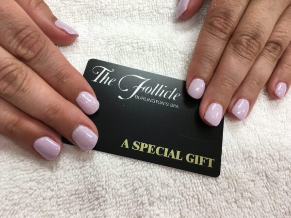 Gift Certificate with Hands